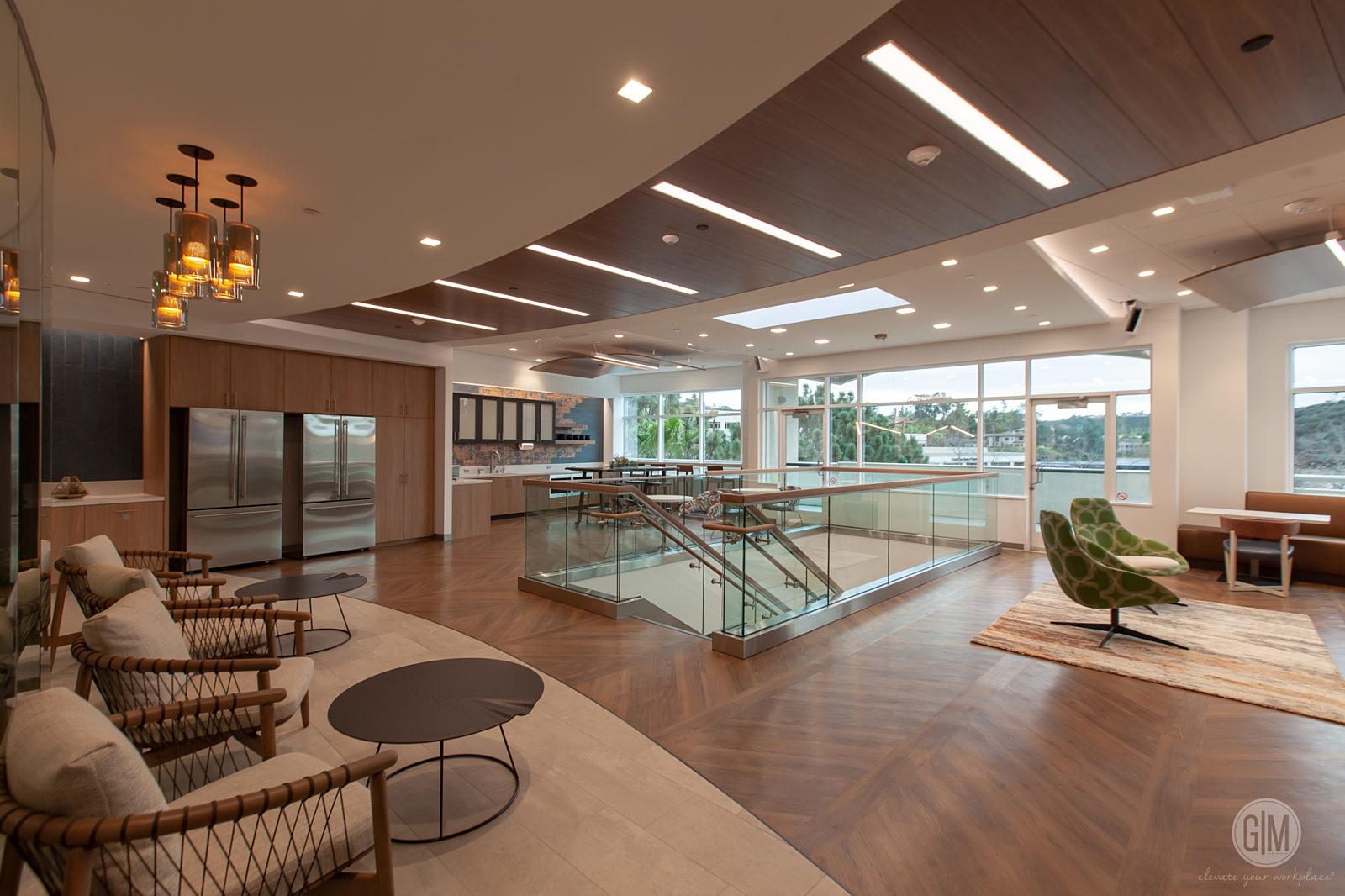Perkins Coie San Diego Lobby Area