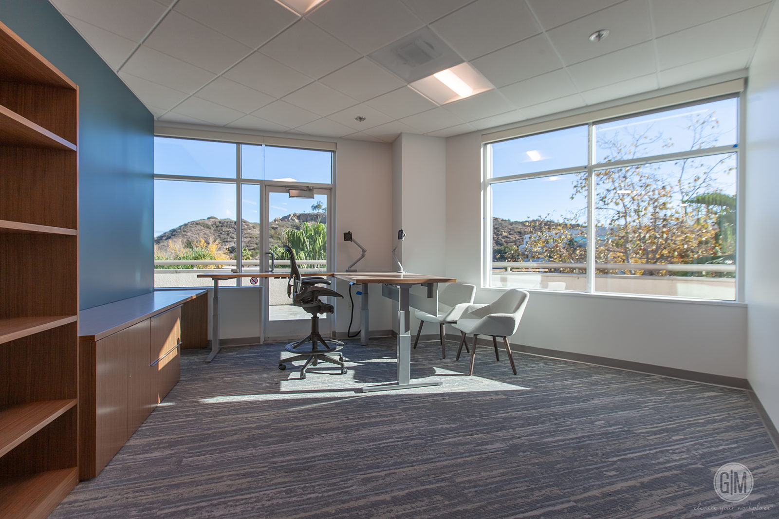 Perkins Coie San Diego Private Office